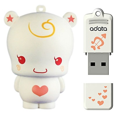 A-Data 8GB T809 White Angel