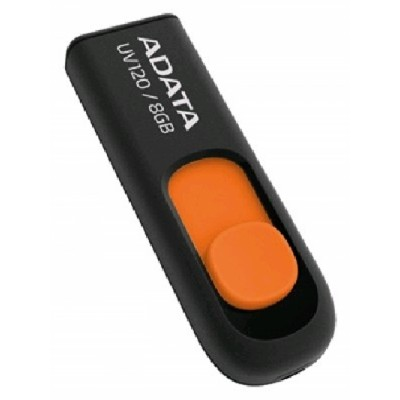 A-Data 8GB UV120 Black/Orange