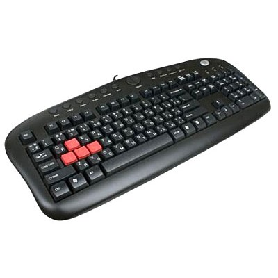 A4Tech KB-28G PS/2 Black