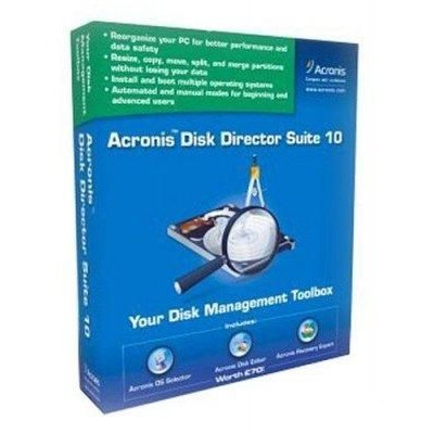 Acronis Disk Director Suite 10.0 BOX ADDS10BOX