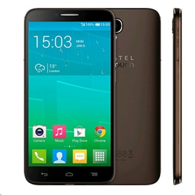 Alcatel OneTouch IDOL 2 6037Y Black/Chocolate