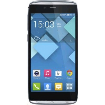 Alcatel OneTouch IDOL OT6032Х ALPHA Slate Dark Grey