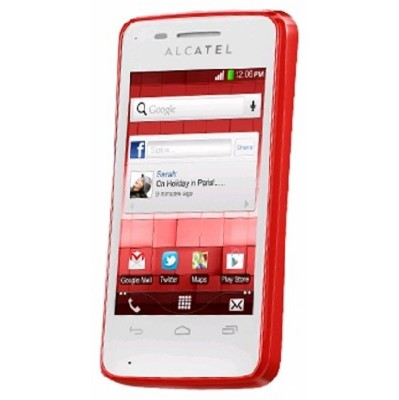 Alcatel OneTouch TPop OT4010D Red