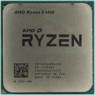 Процессор AMD Ryzen 5 1400 OEM YD1400BBM4KAE