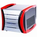 AOpen Mini Tower G325 B-Red 400W