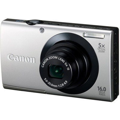 Canon PowerShot A3400 IS Silver