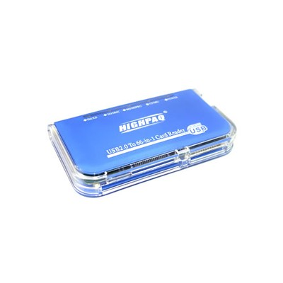 Card readers External 48-in-1 Blue
