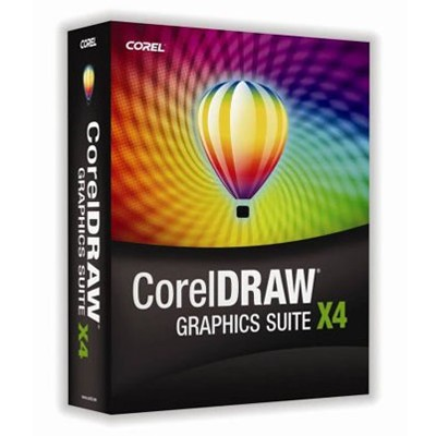 CorelDRAW Graphics Suite X4 3 licenses CDGSX4IEROWSBE
