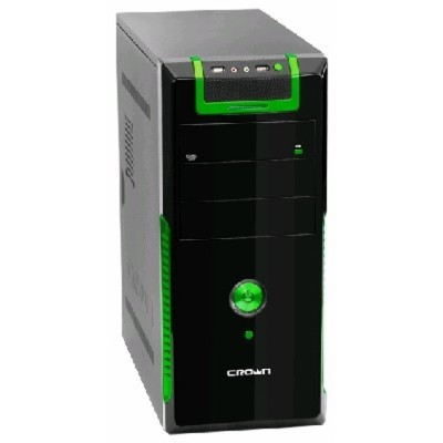 Crown CMC-33 black-green 450W