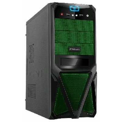 Crown CMC-SM161 black-green 400W
