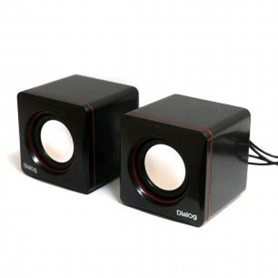 Dialog Colibri AC-04UP Black/Red