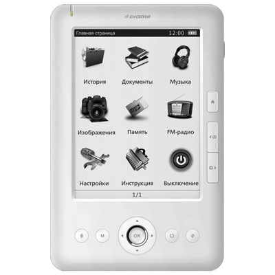 Digma e601 White 4GB