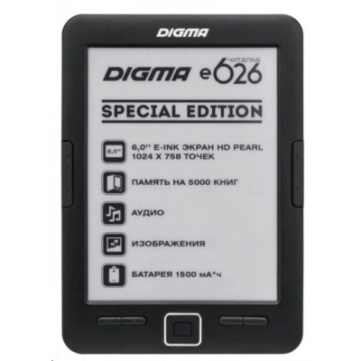Digma E626 Black 4GB