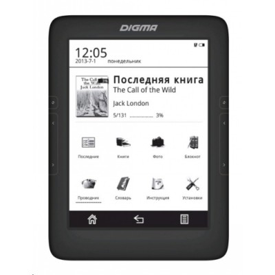 Digma T646 Black 4GB