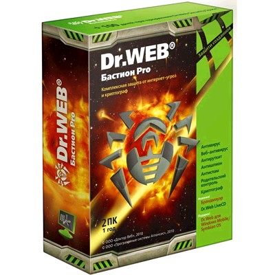 Dr. Web Security Space Pro BFW-W12-0001-2