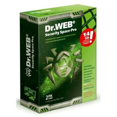 Dr. Web Security Space Pro BFW-W24-0002-1