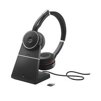 Гарнитура Jabra Evolve 75 Stereo MS Charging stand Link 370