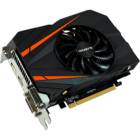 GigaByte nVidia GeForce GTX 1060 3Gb GV-N1060IXOC-3GD