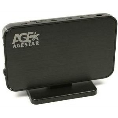 Hard Box AgeStar 3UB3A8-6G Black