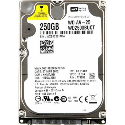 WD WD2500BUCT