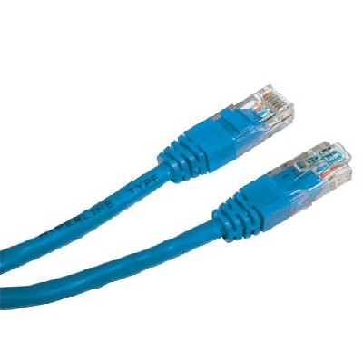 Hyperline PC-LPM-UTP-RJ45-RJ45-C5e-0.5M-BL