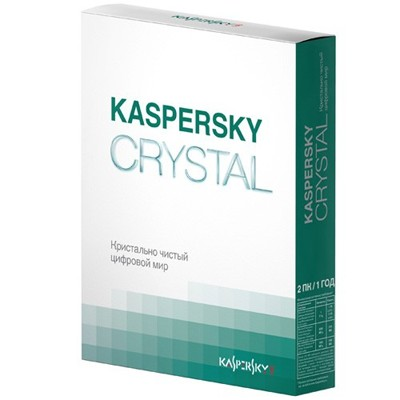Kaspersky Crystal Russian Edition KL1901RBBFS