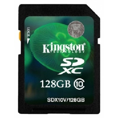 Kingston 128GB SDX10V-128GB