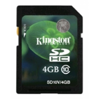 Kingston 4GB class10 microSDHC SD10V-4GB