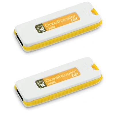 Kingston 4GB DataTraveler DTIG2-4GB-2P