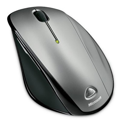 Microsoft Natural Wireless Laser Mouse 6000 Black/Grey
