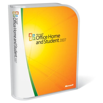 Microsoft Office Home and Student 2007 79G-00055