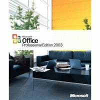Microsoft Office Professional 2003 269-07422