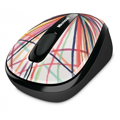 Microsoft Wireless Mobile Mouse 3500 Artist Perry 1