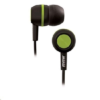 Наушники BBK EP-1230S Black/Green