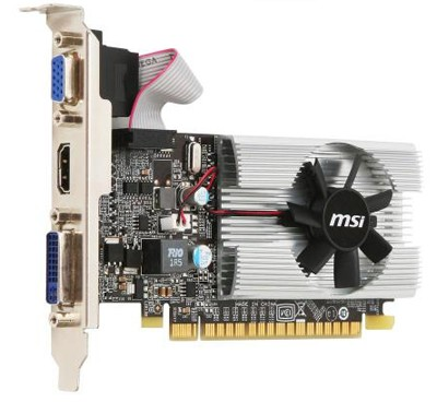 PCI-Ex 1024Mb MSI N210-MD1G/D3