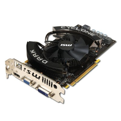 PCI-Ex 1024Mb MSI N250GTS Dark Cyclone c Cuda