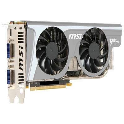 PCI-Ex 1024Mb MSI N560GTX-TI HAWK