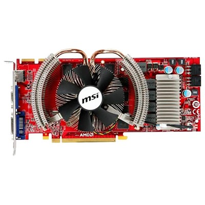 PCI-Ex 1024Mb MSI R4870 Cyclone