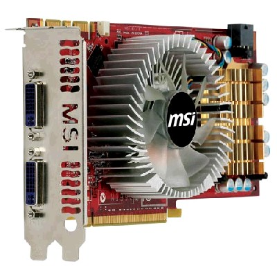 PCI-Ex 512Mb MSI N250GTS-2D512 OC Economic