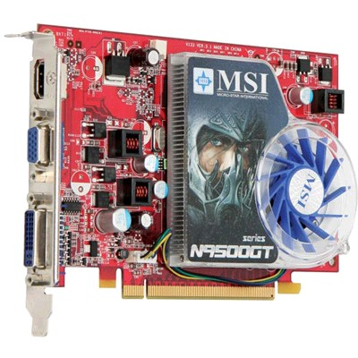 PCI-Ex 512Mb MSI N9500GT-MD512/D2