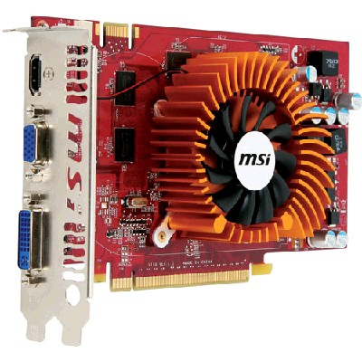 PCI-Ex 512Mb MSI N9800GT-512М