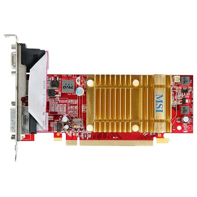 PCI-Ex 512Mb MSI R4350-MD512H