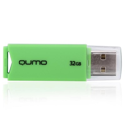 Qumo 32GB QM32GUD-TRP-Green