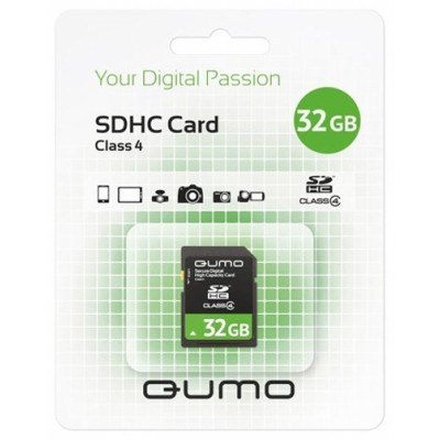 Qumo 32GB Secure Digital QM32GSDHC4