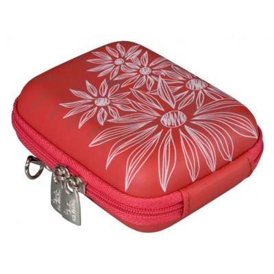 Riva 7023 PU Red flowers