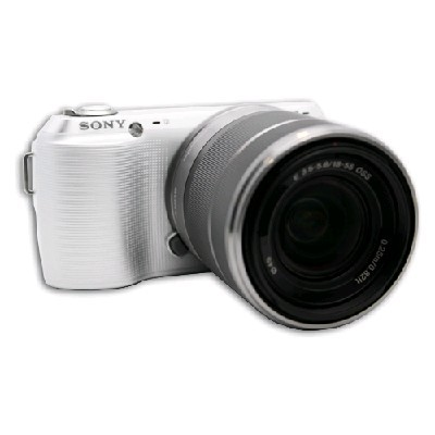 Sony Alpha NEX-C3D White