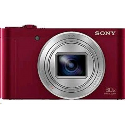 Sony Cyber-shot DSC-WX500 Red