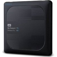WD My Passport Wireless Pro 4Tb WDBSMT0040BBK-RESN