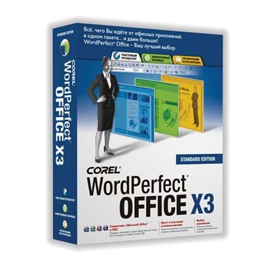 WordPerfect Office X3 Std Russian WPX3STDRUSPC